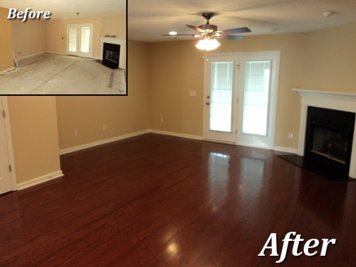 Complete home transformations inc for Hardwood floors examples