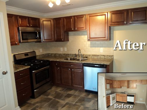 Kitchen Remodel Example