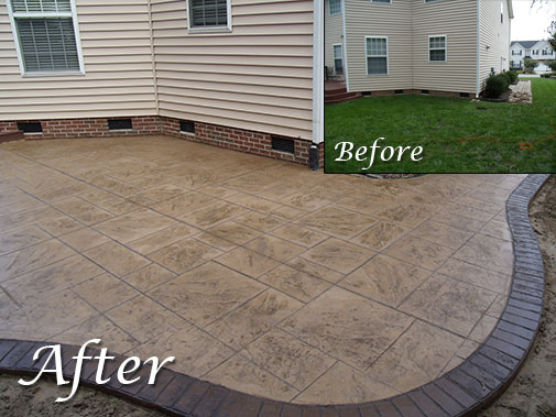 Stamped Concrete Example